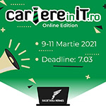 Cariere in IT – Online Edition