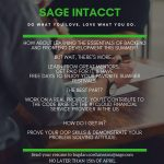 Sage Intacct Paid Summer Internship 2019