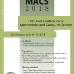 12th Joint Conference on  Mathematics and Computer Science