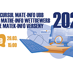 A Matematika és Informatika Kar ebben az évben szimulációs vizsgát szervez a BBTE Matek-Infó Verseny keretében, a 2021-es egyetemi felvételi előtt