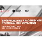 Eröffnung des akademischen Jahres 2019-2020