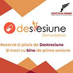 Destresiune Online Edition: Rezervă-ți pilula de Destresiune și treci cu bine de prima sesiune
