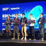 Studenții facultății noastre clasați pe locul I la Hackathon-ul EduHack