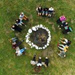 Magiszteri hallgatók a Farkas Gyula Egyesület őszi táborában