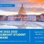 Bursele Fulbright Student 2022-2023 pentru studenții, masteranzii și doctoranzii români
