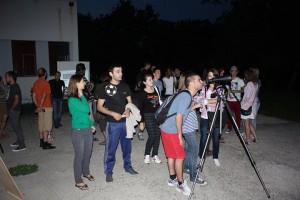Public la observarea eclipsei de Luna 15.06.2011