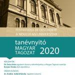 Tanévnyitó a Magyar Tagozaton – 2020–2021-es egyetemi tanév